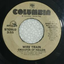 """WIRE TRAIN Chamber of Hellos DOUBLE A SIDE US 7"""" Demo Copy"""