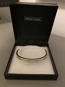 Warren James swarovski bracelet