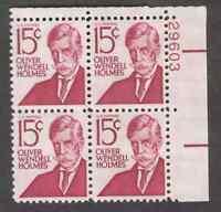 US. 1288. 15c. Holmes. PB4 #29603 UR. MNH. 1968