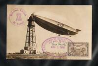 Canada 1930 Airship Zeppelin R100 Flight St Hubert Montreal - Bedford, Signed VF