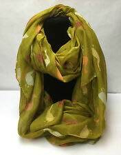 Duck Animal Print Fashion Scarf for Ladies/girls Mustard/Yellow
