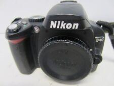 Nikon D40 6.1MP Digital SLR Camera Body - Untested