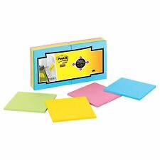 Post-it Super Sticky Full Adhes.Notes Fan 16 Pk