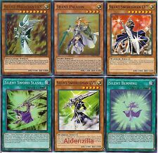 Yugioh Silent Swordsman / Magician LV Deck - Level Up LV8 LV7 Paladin