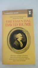 The Essential David Hume Paperback –1969 by David Hume (Author), Robert Paul Wol