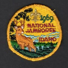 BSA  boy scout patch 1969 Jamboree pocket patch, used condition