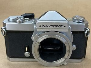 Nikon Nikkormat FTN 35mm Film Camera Body in Working Conditions
