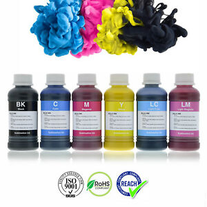 Dye Sublimation Inks for Epson & Brother Printers refillable cartridges or CISS