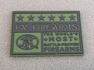 FN FIREARMS PATCH SCAR MORALE PVC PATCH 2021 SHOT SHOW