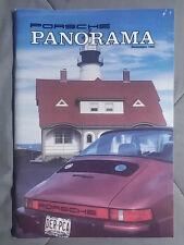 1985 NOVEMBER PORSCHE PANORAMA MAGAZINE CARRERA 911 928 944 924 356 TURBO