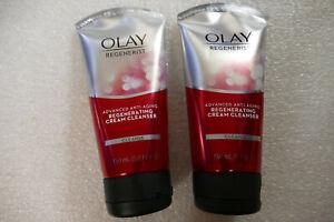 2 PACK Olay Regenerist Advanced Anti Aging Regenerating Cream Cleanser 5.0 oz
