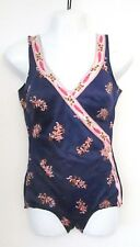 Vintage Italian 1960's Swimsuit. Low-leg, UK 10 '42' Great condition, Structured