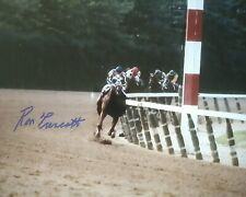 Secretariat photograph signed 8x10 Belmont Stakes Ron Turcotte