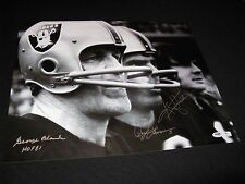 "Ken Stabler George Blanda Daryle Lamonica Raiders Signed 16x20 Photo PSA ""RARE"""