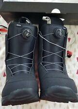 Burton Moto Boa Snowboard Boots Men's Size 10 Black