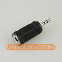 3.5mm female to 2.5mm male Plug Audio Stereo Headphone Jack Adapter Converter