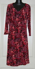 Womens size 12 stretchy scoop neck dress made by TRENT NATHAN