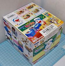 Miniatures Doraemon Happy School Lunch  Box Set - Re-ment   ,  h#7ok