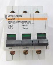 Merlin gerin multi 9 switch disconnector 125a triple pole 15098