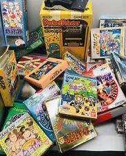 Lot Nintendo Gameboy Red / Yellow / Mario / GB Japan Ver. US Seller