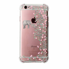 Crystal Clear Anti-shock Bumper Silicone Case Phone Cover For iPhone 6 6s 7 8+ X