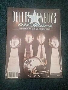 Dallas Cowboys Football NFL Official Bluebook 1994 Program Book