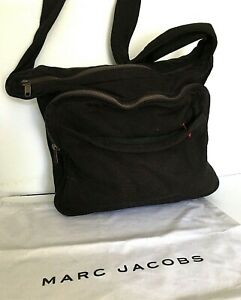 Marc Jacobs Extra Large Black Cloth Bag /Tote(diaper, weekend) dust bag incl.