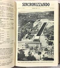 1931 SINCRONIZZANDO ANNO ANNATA COMPLETA