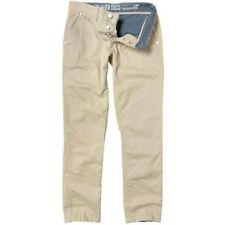 Pantaloni da uomo beige a gamba dritta