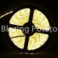 LumenWave 5M 5050 SMD IP20 Flexible 300 LED Strip Lights -White PCB- Warm White