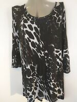 🌻ROGERS+ROGERS ANIMAL PRINT TUNIC SIZE 20 , NEW WITH TAGS, ANY OCCAISION🌻