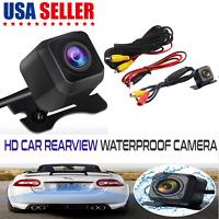 Car Rear View Backup 170º Camera Parking Reverse Back Up Camera Waterproof CMOS