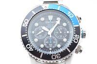 SEIKO V175-0AD0 Solar Authentic Mens Watch 200M Air Diver Wristwatch