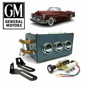 1953-60 GM B-Body Auxiliary Under Dash Core Heater Box Buick Special Powerglide