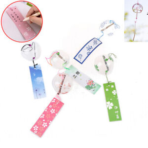 Handmade Japanese Style Glass Bell Wind Chime Office Home Decoration SummZY
