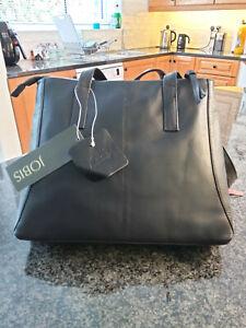 Jobis Leather Bag - Black - J61007 - BRAND NEW
