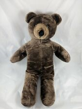 "Brown Teddy Bear Plush 20"" Korea 1987 Ira Green Inc"