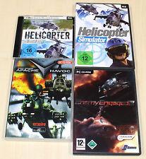 Juegos pc colección Helicopter helicóptero simulador Enemy engaged Apache Havoc