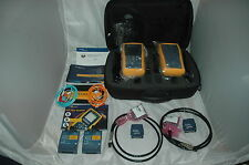 Fluke DTX-1800 Netzwerktester Cat 7 900MHZ Cable Analyzer + Multimode MFM2 -TOP