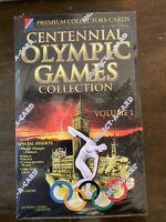THE CENTENNIAL OLYMPIC GAMES SEALED BOX OF SPORTS CARDS VOLUME 1 COLLECT-A-CARD
