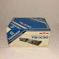 Vintage Pioneer TS-X30 Speakers New Old Stock