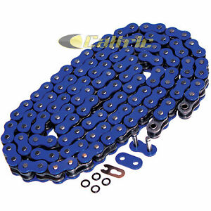 525 Blue O-ring Chain 114 Links for motorcycle