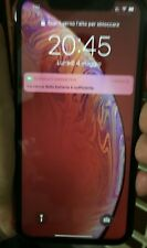 APPLE IPHONE XR RED ROSSO DUAL 2 NANO SCHEDE SIM FISICHE UNICO X R UNLOCKED