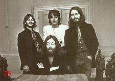 Beatles Postkarte No. 09 - b/w - Bester Zustand