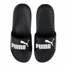 Puma Popcat Womens Slide Sandals Sliders Pool Summer Beach Black