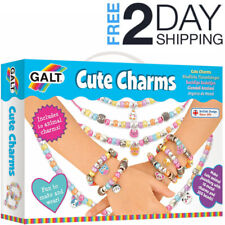 New GALT TOYS Cute Charms Beads Jewellery Making Kit Set Girls Children Kids Toy