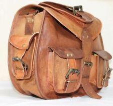 Indian Real Genuine Leather Large Vintage Messenger Girls Bag Shoulder Hippie