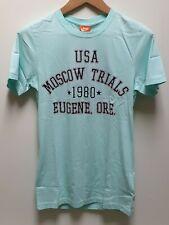Rare NIKE USA Olympic Trials Oregon 1980 MOSCOW Vintage Style T Shirt BNWT Sz S