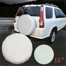 "15"" Spare Tire Cover Wheel Protection White For Toyota RAV4 Tire Cover 28"" 29"""