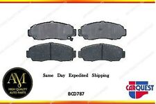Carquest Brake Pad Ceramic Front BCD787 For Acura CL TSX TL Honda Accord Civic